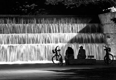 Photograph - An Evening At A Memorial by Kathi Isserman
