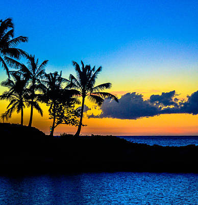 Photograph - An Evening At Ko Olina by Lisa Cortez