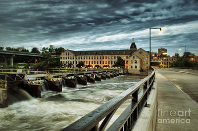 Appleton Wisconsin Photograph - An Evening Down In The Flats by Mark David Zahn