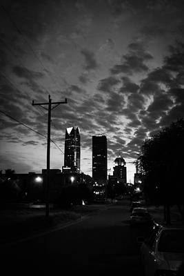 Photograph - An Evening In Okc by Nathan Hillis