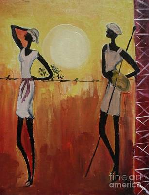 Painting - An Evening In Style by Shilpa Mehta