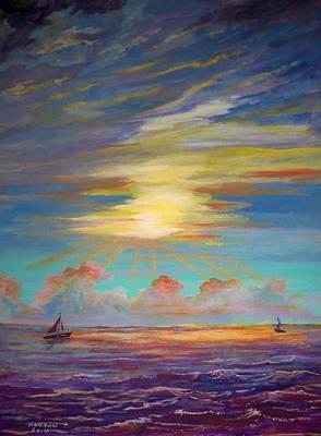 An Evening Sail Art Print