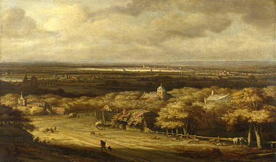 Extensive Landscape Painting - An Extensive Landscape by Philips Koninck