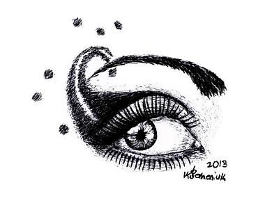 An Eye For Art Art Print by Kayleigh Semeniuk