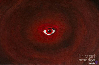 An Eye Is Upon You Art Print by Stefanie Forck