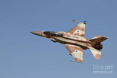 Impressionist Landscapes - An F-16i Sufa Of The Israeli Air Force by Ofer Zidon