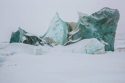 Photograph - An Ice Formation In Western Greenland by Cristina Mittermeier