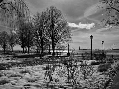 Photograph - An Icy Waterfront by Cornelis Verwaal