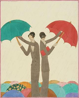 Copy Digital Art - An Illustration For Vogue Magazine by Harriet Meserole