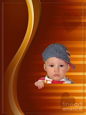Digital Art - An Image Of A Photograph Of Your Child. - 05 by Marek Lutek