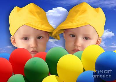 Digital Art - An Image Of A Photograph Of Your Child. - 07 by Marek Lutek