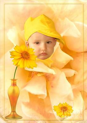 Digital Art - An Image Of A Photograph Of Your Child. - 09 by Marek Lutek