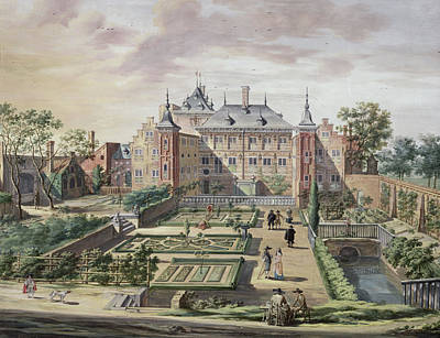 Garden House Painting - An Imaginary View Of Het Tolhuis by Jacob van der Ulft