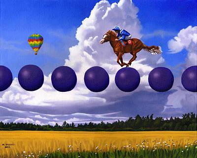 An Insignificent Race Art Print by Michael Bridges