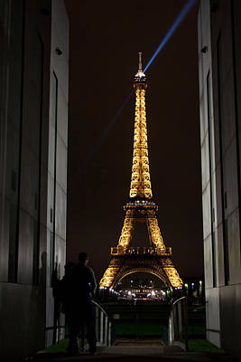 Western Art - An Intimate Moment with Eiffel by John Daly