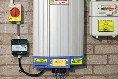 Ac Dc Photograph - An Inverter For A Solar Panel System by Ashley Cooper
