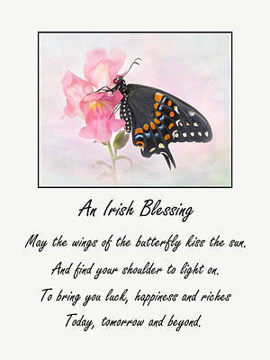 Photograph - An Irish Blessing by David and Carol Kelly
