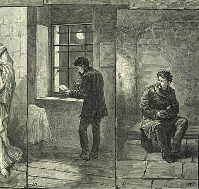 Hulk Photograph - An Irish M.p. In Prison by British Library