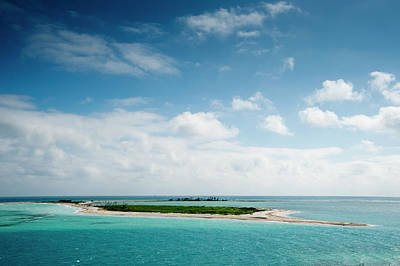 Tortuga Beach Photograph - An Island Adjacent To Fort Jefferson by Karen Kasmauski