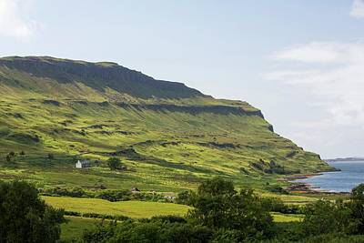 An Isolated House Above Loch Na Keal Print by Ashley Cooper