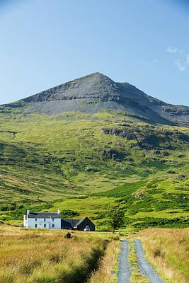 An Isolated House Beneath Ben More Print by Ashley Cooper