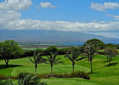 Photograph - An Isthmus Vista In Maui by Kirsten Giving