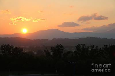 Photograph - An Oak Ridge Sunset by Jay Nodianos