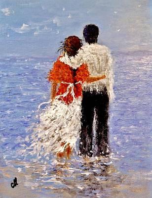 An Ocean Of Love.. Art Print by Cristina Mihailescu