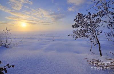 Snow Drifts Photograph - An Ocean Of Snow by Dan Jurak