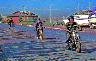 Photograph - An October 2013 Motor Bike Rally by Joseph Coulombe