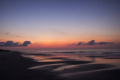 Beach Photograph - An October Morning by Ben Shields