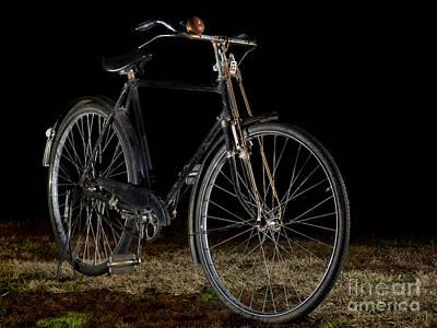 Western Art - An old bicycle by Sinisa Botas
