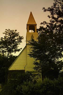 An Old Church Near Moxee Wa Art Print by Jeff Swan