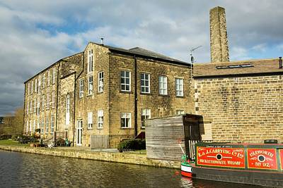 An Old Cotton Mill Converted Into Housing Art Print by Ashley Cooper