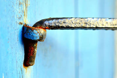 An Old Door Hinge Original