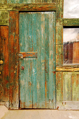 Photograph - An Old Doorway by Daniel Woodrum