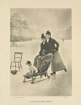 Ice Sport Photograph - An Old-fashioned Winter by British Library