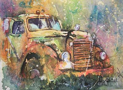 Painting - An Old International by Carol Losinski Naylor
