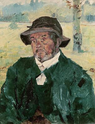Photograph - An Old Man, Celeyran, 1882 Oil On Canvas by Henri de Toulouse-Lautrec