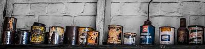 Justin Woodhouse Photograph - An Old Mechanic's Ingredients by Kaleidoscopik Photography