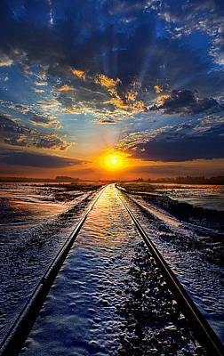 Railroads Photograph - An Old Song by Phil Koch