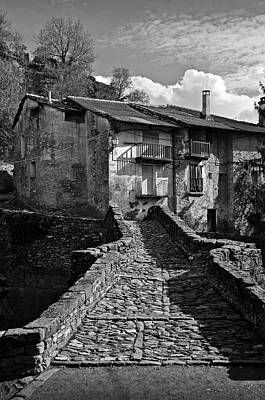 Abandoned Houses Photograph - An Old Spanish Town Puente De Montanana by RicardMN Photography