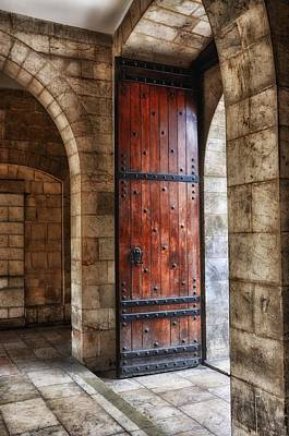 Photograph - An Open Door Color by Mark Fuller