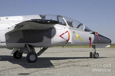 An S-211 Jet Trainer Aircraft Art Print