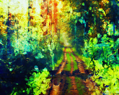 Painting - An Uncertain Path by Joe Misrasi
