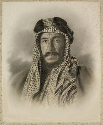 An Unidentified Sheikh Art Print by British Library