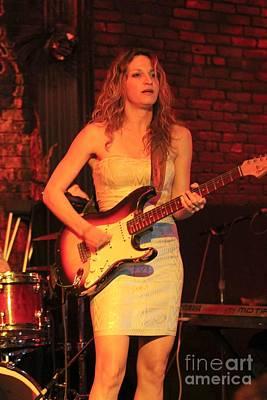 Guitarist Ana Popovic Art Print by Concert Photos