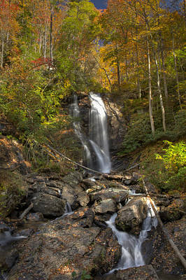 Photograph - Ana Ruby Falls Autumn 2 by Penny Lisowski