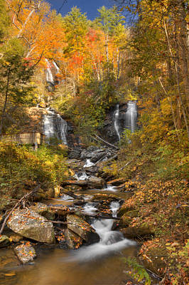 Photograph - Ana Ruby Falls Autumn 3 by Penny Lisowski