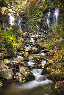 Ana Ruby Falls In Autumn Art Print